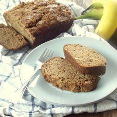 Brown Sugar Crusted Peanut Butter Banana Bread