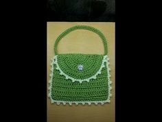 VERY EASY crochet pretty purse / clutch / bag tutorial - YouTube