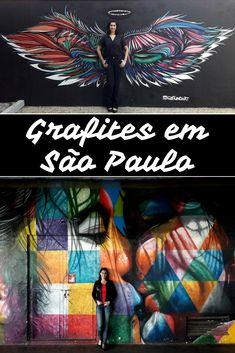 Eu adoro #artederua. Deixam as cidades coloridas, transformam espaços, dão vida a qualquer lugar. Para quem vai a #SãoPaulo, listei (e mostrei) alguns #grafites com mapinha no fim indicando onde fica cada um.