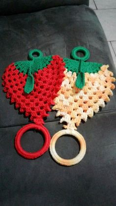 Ideas For Crochet Bag Holder Owl Crochet Potholders, Crochet Quilt, Crochet Home, Thread Crochet, Irish Crochet, Crochet Crafts, Crochet Doilies, Crochet Flowers, Crochet Projects