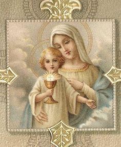 María, Madre de LA SAGRADA EUCARISTÍA