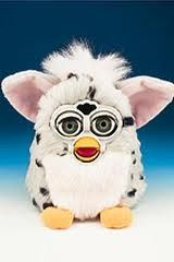 furby - Google Search Furby's were one of the most popular toys of all time. As expressed in the reading (chapter 30) because this toy was so popular and became scarce, many people wanted to buy one just because it was scarce. Even though they may not have wanted or needed one.