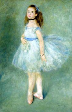 La danseuse  par Pierre Auguste  Renoir