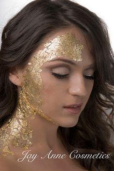 Gold Leaf Paper Make-up