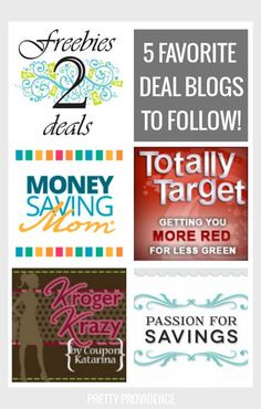 deal blogs to follow, you'll be glad you pinned this one!