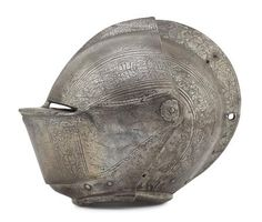 German close helmet Circa 1590