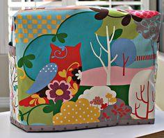 sewing machine cover sewing-fun