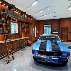 162 Best Custom Garage Interior Images On Pinterest Garage Dream
