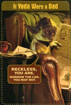 Your brain read this in Yoda's voice. #StarWars