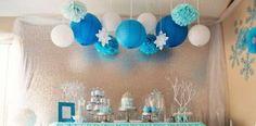 Ένα υπέροχο party frozen μόνο για μικρές πριγκίπισσες!