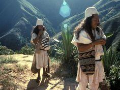 Indígenas Arhuacos, Colombia