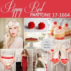 {Pantone Fashion Color Report}: Poppy Red - PANTONE 17-1664 http://www.theperfectpalette.com/2012/10/pantone-fashion-color-report-spring-2013.html