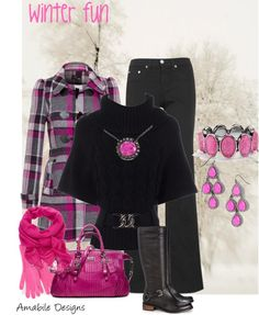 """""""Winter Fun"""" by amabiledesigns on Polyvore"""