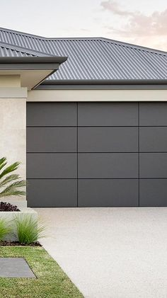 Our Ultimate Sectional Garage Doors are all about flaunting absolute street appeal. Create a custom design to suit your taste and budget. Centurion's Ultimate Range doors are each distinctive in their own right. Sectional Garage Doors, Mid-century Modern, Custom Design, Marble, Mid Century, Detail, Architecture, Frame, Houses