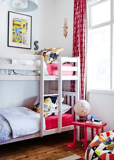 Pink bedrooms for girls and boys « Growing Spaces