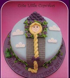 #Rapunzel #cake