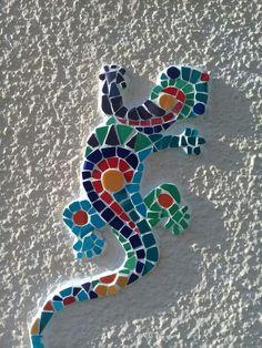 Из осколков плитки. Мозаика. Article Gallery [+25 Ideas] The post Из осколков плитки. Мозаика. appeared first on Repin. Lizards