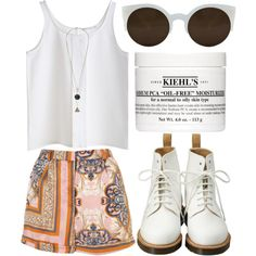 054687453 by jesicacecillia on Polyvore featuring Dr. Martens, RetroSuperFuture and Kiehl's