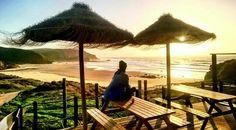 Sunset praia