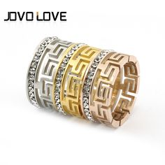 Find More Rings Information about 2017 New Trendy Greek Key Jewelry Stainless Steel Rings for Women Great Wall Pattern women's Gold Ring Anillos Mujer Accessories,High Quality finger ring,China couple rings Suppliers, Cheap ring stainless from MSX Fashion Jewelry on Aliexpress.com
