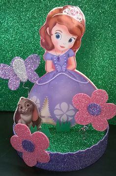 Princesa Princess Sofia Birthday, Sofia The First Birthday Party, Disney Princess Party, Birthday Fun, Birthday Party Themes, Princesa Sophia, Family Crafts, First Birthdays, Party Time