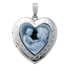 Get this beautiful 14K Gold Mother & Child Cameo for the special mother in your life. #GiftsForMom