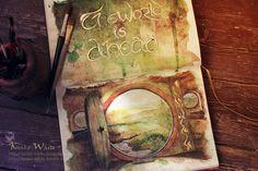 Fã faz pinturas incríveis baseadas no filme O Senhor dos Anéis