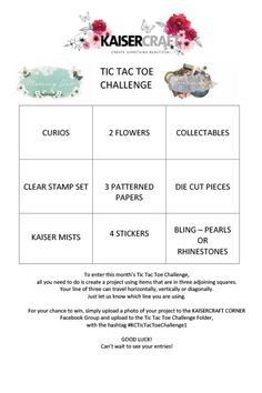It's Lisa here today with a bit of a challenge for you. I have created a Tic Tac Toe Challenge. In order to enter you need to create a project using 3 adjoining squares on the boar… Tic Tac Toe, Scrapbook Sketches, Clear Stamps, Pattern Paper, Challenges, Workshop, Corner, Squares, Lisa