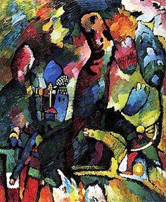 1909 ''Quadro con Arciere', Wassily Kandinsky (1866~1944)