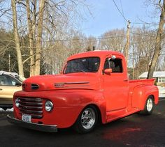 1948 Ford Truck, Ford Trucks, Hot Rod Pickup, Classic Trucks, Old Cars, F1, Hot Rods, Vehicles, Vintage Cars