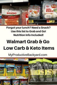 Walmart Grab and Go Low Carb Keto Items; Forgot your lunch? Need a snack? Here i… Walmart Grab and Go Low Carb Keto Items; Forgot your lunch? Need a snack? Lunch Recipes, Low Carb Recipes, Smoothie Recipes, Recipes Dinner, Pork Recipes, Paleo Recipes, Crockpot Recipes, Smoothies, Dessert Recipes