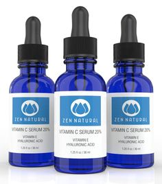 Zen Natural Vitamin C Serum 20% for Face and Skin - With Botanical Hyaluronic Acid and Vitamin E   FREE Bonus E-book Guide on Skin Care and Anti Aging.   Organic Jojoba Oil - 1.25 fl oz * To view further, visit now : NOW essential oils