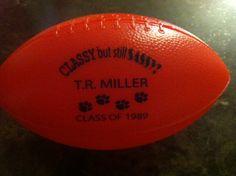 TR Miller Class of 89 Footballs