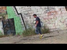amazing trick shots with a soccer ball (Rémi GAILLARD)