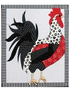 Quilted Rooster
