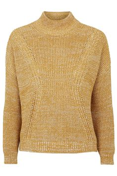 Photo 1 of Ribbed Detail Funnel Neck Jumper