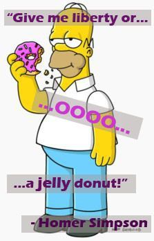 Homer Simpson said