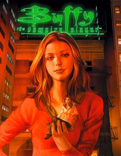 Buffy Season 8 #4 , cover art by Jo Chen
