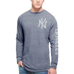 60a26e0fc27 MLB New York Yankees  47 Tri-State Long Sleeve Tri-Blend T-