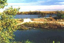 Antelope Lake, Kansas. One of the smaller lakes in Kansas, but a great place to sit back and enjoy some good fishing