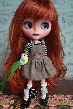 Ava OOAK Custom Blythe Doll - https://www.etsy.com/listing/194580432/ava-ooak-custom-blythe