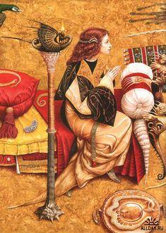 Украинский художник-иллюстратор Владислав Ерко