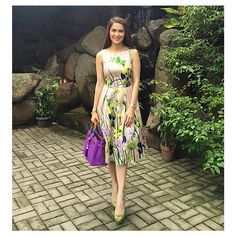 Marian Rivera Gracia @therealmarian | Websta (Webstagram) Summer Dress Outfits, Cool Outfits, Fashion Outfits, Marian Rivera, Smart Casual Women, Outfit Goals, I Love Fashion, Maternity Dresses, Boho Dress