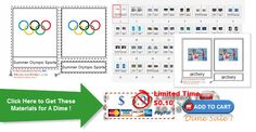 Montessori Olympic Games Materials for Ages from Montessori Helper - Only a dime right now! Even at full price looks like a great unit! Summer Olympics Sports, Olympic Sports, Olympic Games, A Dime, Age 3, Summer Fun, Montessori, How To Get, The Unit