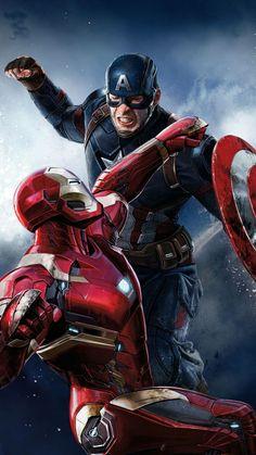 Iron Man vs. Captain America........