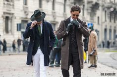 """menstyle1: """"Men's winter street style / Winter outfits inspiration. """""""