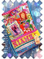 Kids Travel ready bag for an adventure, vibrant & vintage too