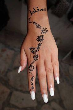 Henna #tattoo
