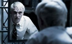 What was, in my opinion, the most heartbreaking scene of all time. I'm crying just thinking about it--poor Draco! :'(