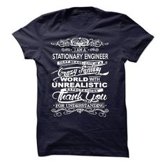 Awesome Tee I Am A Stationary Engineer T shirts
